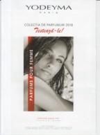 Fashion Mode - Yodeyma Paris Cosmetics - Parfums - Program, Magazine - 2 Pages, Unused, Perfect Shape - Boeken, Tijdschriften, Stripverhalen