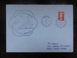Marianne Briat 2614 - Cachet Batiment D'assistance Des Peches Du 13/3/1991 - Griffe Du RHM Malabar - Terres Australes Et Antarctiques Françaises (TAAF)
