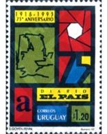 Ref. 243965 * MNH * - URUGUAY. 1993. 75th ANNIVERSARY OF PAIS NEWSPAPER . 75 ANIVERSARIO DEL DIARIO EL PAIS - Other