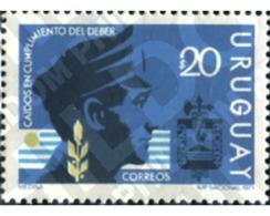 Ref. 297048 * MNH * - URUGUAY. 1971. HOMENAJE A LOS AGENTES DE POLICIA - Police - Gendarmerie