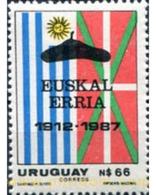 Ref. 297250 * MNH * - URUGUAY. 1988. 75 ANIVERSARIO DE LA INMIGRACION BASCA EN URUGUAY - Flaggen