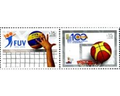 Ref. 346035 * MNH * - URUGUAY. 2015. BASKETBALL . BALONCESTO - Uruguay