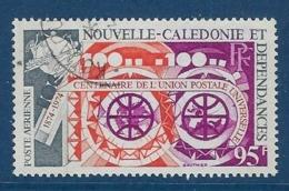 """Nle-Caledonie Aerien YT 159 (PA) """" Centenaire UPU """" 1974 Oblitéré - Luftpost"""