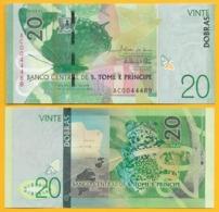Saint Thomas & Prince / Sao Tomé E Principe 20 Dobras P-72 2016 (2018) UNC Banknote - Sao Tomé Et Principe