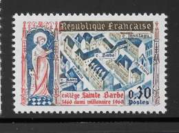 Yvert 1280 Maury 1280 - 30 C Collège Sainte Barbe - ** - Frankreich