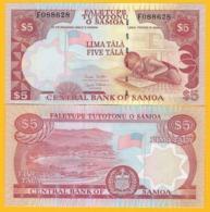 Samoa 5 Tala P-33b 2005 UNC Banknote - Samoa