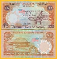Samoa 20 Tala P-35a 2002 UNC Banknote - Samoa