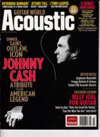 "C 5)Livre, Revues >  Jazz,Rock, Country > Guitar World ""Acoustique"" ""Johnny Cash""   (+- 98 Pages) - Bücher, Zeitschriften, Comics"