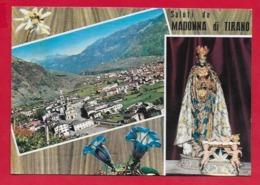 CARTOLINA VG ITALIA - Saluti Da Madonna Di TIRANO (SO) - Vedutine Multivue - 10 X 15 - 1966 - Saluti Da.../ Gruss Aus...