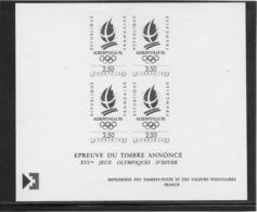 Thème Sports - Jeux Olympiques - France - Epreuve De La Poste - Non Classificati