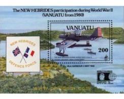 Ref. 144879 * MNH * - VANUATU. 1992. LA SEGUNDA GUERRA MUNDIAL EN LAS NUEVAS HEBRIDAS - Vanuatu (1980-...)