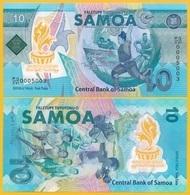 Samoa 10 Tala P-new 2019 Commemorative UNC Polymer Banknote - Samoa