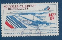 """Nle-Caledonie Aerien YT 169 (PA) """" Concorde """" 1976 Oblitéré - Luftpost"""