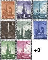 Ref. 115866 * MNH * - VATICAN. 1959. ROMANIC OBELISCS . OBELISCOS ROMANOS - Monumenti