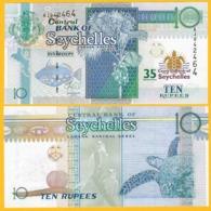 Seychelles 10 Rupees P-46 2013 Commemorative  UNC Banknote - Seychellen