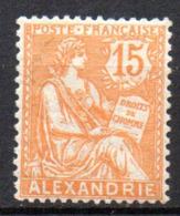 Col17  Colonie Alexandrie N° 25  Neuf X MH  Cote 6,00€ - Neufs