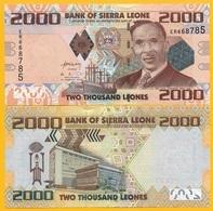 Sierra Leone 2000 Leones P-31 2013 UNC Banknote - Sierra Leone