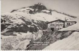 377 - CARTOLINA - RHONEGLETSCHER 2300 M. EINGANG ZUR EISGROTTE - SVIZZERA - VS Valais