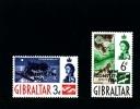 GIBRALTAR - 1964  NEW  CONSTITUTION  SET  MINT NH - Gibilterra