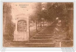 MALMEDY ..--   Calvaire . 1931 Vers LAEKEN ( Melle Andrée VANDE PUTTE ) . Voir Verso . - Malmedy