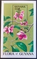 Guyana 1990** Bl.114. Flora Of Guyana MNH [11;60] - Pflanzen Und Botanik