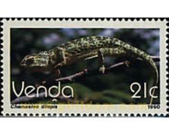 Ref. 76809 * MNH * - VENDA. 1990. REPTYLE . REPTIL - Venda