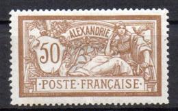 Col17  Colonie Alexandrie N° 30 Neuf X MH Cote 14,50€ - Neufs