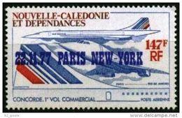 """Nle-Caledonie Aerien YT 181 (PA) """" Concorde Surch. """" 1977 Neuf** - Luftpost"""