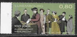 LUXEMBOURG, 2019, MNH,  WOMEN'S EQUALITY, WOMEN'S VOTING RIGHTS, UNIVERSAL VOTING,1v - Other