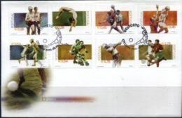 PORTUGAL, 2002, SPORTS, CE#2891-98, FDC - FDC