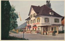 378 - CARTOLINA - STEIN AM RHEIN - CAFFE' RESTAURANT - GASTHOF GRENZSTEIN   - SVIZZERA - SH Schaffhouse