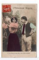 CPA - CACHET A DATE : ARDIN (DEUX SÈVRES) Sur CPA COUPLE - 1877-1920: Periodo Semi Moderno