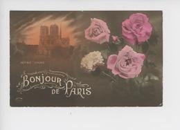 Bonjour De Paris (roses Oeillet Fleurs) Notre Dame - Notre Dame Von Paris