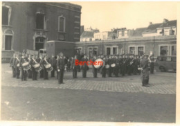 Photo Originale 13x8 Parade Militaire Berchem - War, Military
