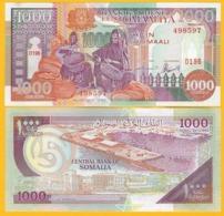 Somalia 1000 Shillings P-37b 1996 UNC Banknote - Somalië