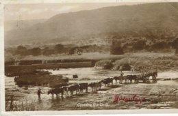 BULAWAY-RHODESIA-CROSSING THE DRITT - Zambie