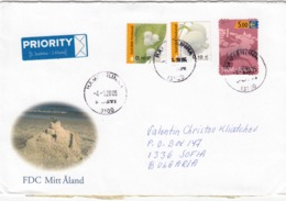 FIN-0112/2005 - Letter Registred+priority From Hameenlinna To Sofia(Bulgaria) - 2 Scan - Finland
