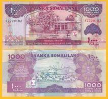 Somaliland 1000 Shillings P-20d 2015 UNC Banknote - Somalië