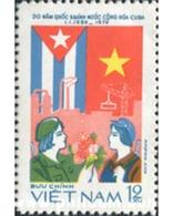 Ref. 577625 * MNH * - VIET NAM. 1979. ANIVERSARIO DE LA REVOLUCION CUBANA - Flaggen