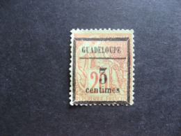 Guadeloupe: N°3,  G.N.O. - Unused Stamps