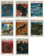 Ref. 37717 * MNH * - NORTH VIETNAM. 1975. REPTILES . REPTILES - Fishes