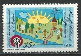 "Nle-Caledonie Aerien YT 194 (PA) "" Année Enfant "" 1979 Neuf** - Luftpost"