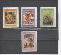 POLYNESIE Française - Artistes En Polynésie - Tableaux De E. Lux, Uschi, P. Kienlen, O. Morillot - Polynésie Française