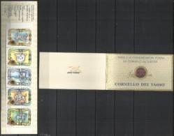 ITALIA REPUBBLICA ITALY REPUBLIC 1993 CORNELLO DEL TASSO E LA STORIA POSTALE LIBRETTO BOOKLET NUOVO MNH UNUSED - Libretti