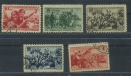 USSR 1940 Michel 736-740 Reunion Of The Western Ukraine And The Western Byelorussia. Used - 1923-1991 URSS