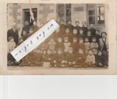 MONTENDRE - Ecole Vallet En 1930 (  Carte-photo )   En L'état - Montendre