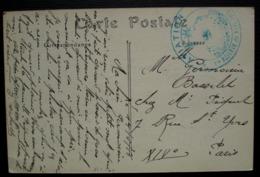 Aviation, 1ere Réserve De Ravitaillement 1916, Cachet Sur Carte De Beauvais - Storia Postale