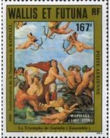 Ref. 310661 * MNH * - WALLIS AND FUTUNA. 1983. 500th ANNIVERSARY OF THE BIRTH OF RAPHAEL . 500 ANIVERSARIO DEL NACIMIENT - Tir à L'Arc