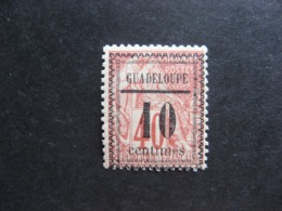 Guadeloupe: TB N°7, Neuf X. - Unused Stamps