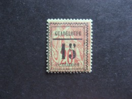 Guadeloupe: TB N°8, Neuf X. - Unused Stamps